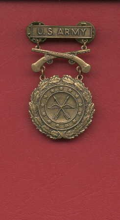 SOLD OUT--US Army Excellence in Competition for Pistol badge in Bronze