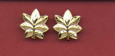 Pair of LT Commander or Major rank insignia Navy and USMC