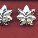 Pair of Commander or LT Colonel rank insignia for Navy and Marine