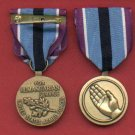 Humanitarian Service medal with ribbon bar