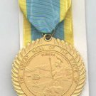 California Distinguished Service medal with neck ribbon