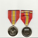 National Defense Award medal anodized