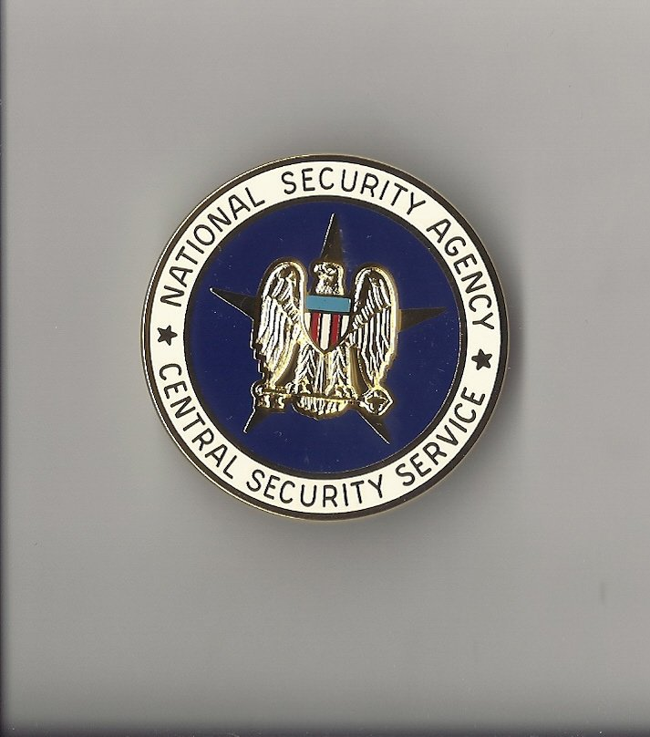 NSA National Security Agency Badge  US Made