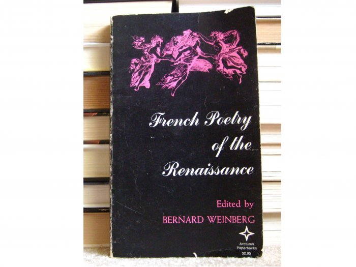 French Poetry of the Renaissance