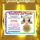 Rosemary Leaf Powder (Rosmarinus officinalis) Morocco Organic Grown All Natural - 1 LB