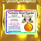 Turmeric Root Powder (Curcuma longa) Organic Grown All Natural - 2 LBS