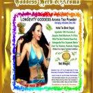 LONGEVITY GODDESS Aroma Tea Powder Organic Grown All Natural - 1 LB