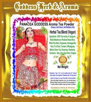 PANACEA GODDESS Aroma Tea Powder Organic Grown All Natural - 1 LB