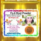 Fo-ti Root Powder (Polygonum multiflorum, He Shou Wu) Organic Grown All Natural - 1 LB