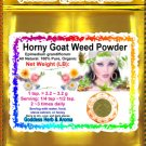 Horny Goat Weed Powder (Epimedium grandiflorum) Organic Grown All Natural - 1 LB
