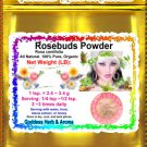 Rosebuds Powder (Rosa centifolia) Chile Organic Grown All Natural - 1 LB
