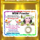 MSM Powder (Methylsulfonylmethane) Organic Grown All Natural  - 1 LB