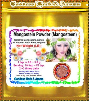 Mangostein Powder (Mangosteen, Garcinia Mangostara) Organic Grown All Natural Wild Crafted - 1LB