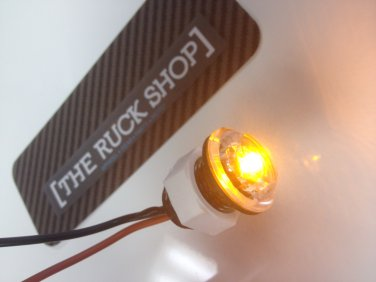 CLEAR LED BLINKERS W/ AMBER LED PAIR