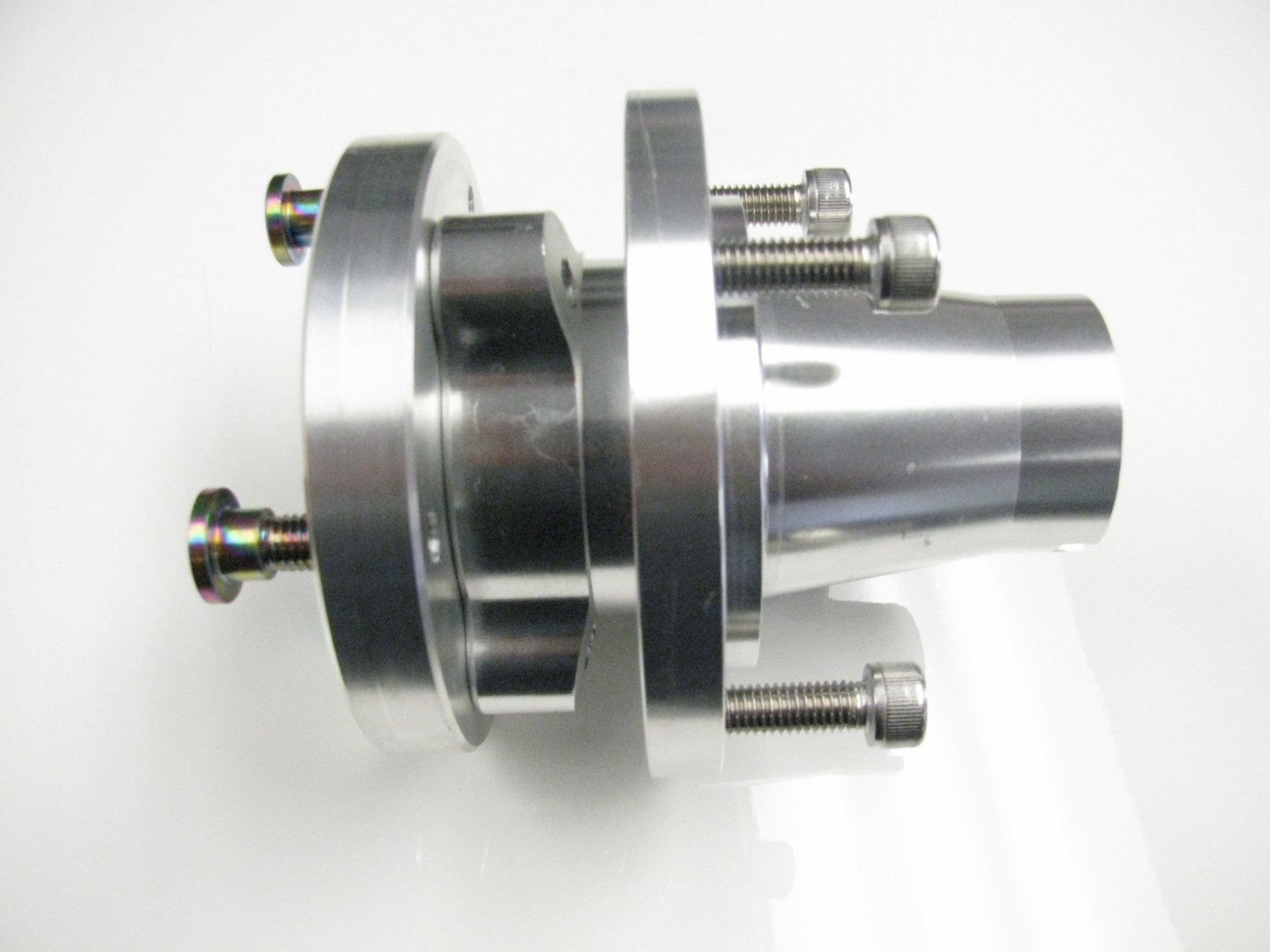 Complete Front Hub w/ adapter and Bolts