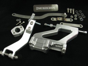 TRS GY6 Extension Mount Kit - Fatty GY6 SOLID 12X8 10X8 OR 12X7