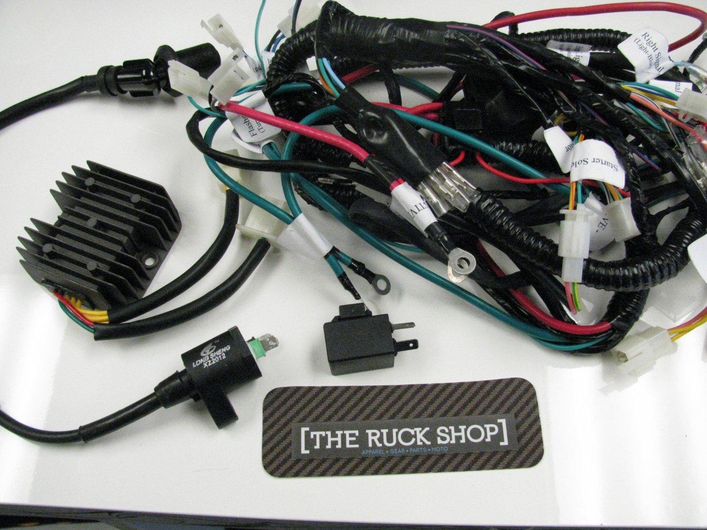 Gy6 150 Wiring Harness Library Car Shop Atr Honda Ruckus 150cc Motor Swap