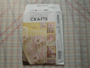 McCALL'S CRAFTS PATTERN #M5870-ACCESS. FOR NURSERY