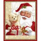 """Jolly Old St. Nick"" Panel-Quilting Treasures-Santa-Christmas-Presents-1 Yd."