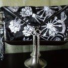 Erickson Beamon Envelope Clutch With Crystal Tassel Pulls