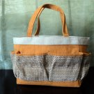Crabtree & Evelyn Canvas Pocket Tote