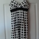 Empire Waist Polka Dot Slip Dress