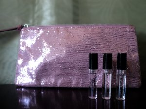 Victoria's Secret Evening Clutch With Fragrance Minis