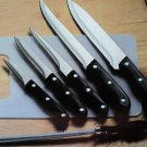 KutchenStolz 6 Piece Cutlery Set With Cutting Board