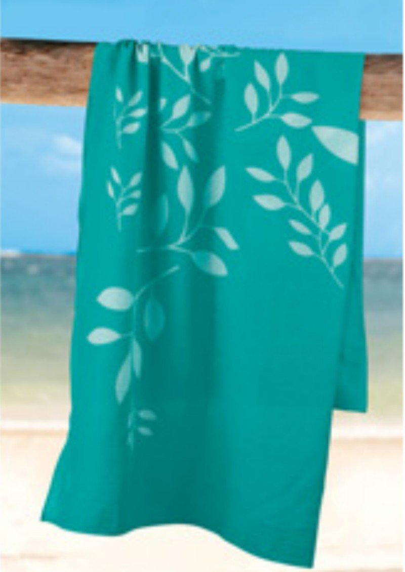 Floral Beach Cover Up Sarong