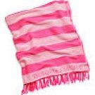 Victoria's Secret Beach Blanket Pink Stripe