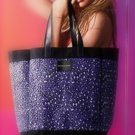 Victoria's Secret Purple Leopard Print Tote