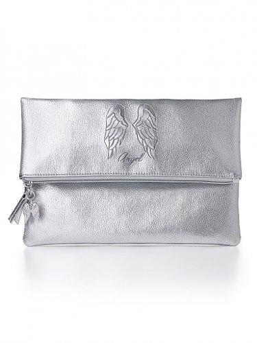 Victoria's Secret Limited Edition Metallic Angel Clutch
