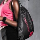 Victoria's Secret Mesh Sport Drawstring Backpack Tote