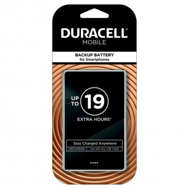 Duracell Mobile Backup Battery For Smartphones