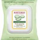 Burt's Bees Facial Cleansing Towelettes Cucumber & Sage 30 Count