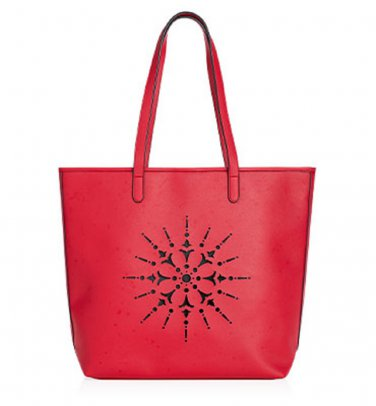 Red Medallion Tote
