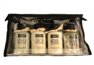 Victoria's Secret Ultimate Moisture To Go 4pc Travel Set Coconut Milk