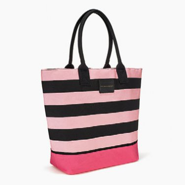Victoria�s Secret Beach Tote Pink Black Multi