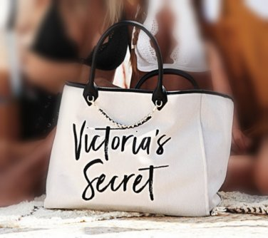 Victoria�s Secret Limited Edition Chain Detail Beach Tote