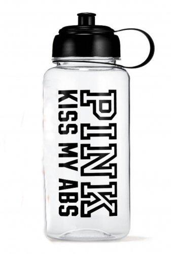 Victoria's Secret PINK Water Bottle Kiss My Abs