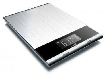 Ozeri Ultra Thin Professional Stainless Steel Digital Kitchen Food Scale