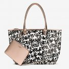 VS Logo Graffiti Tote