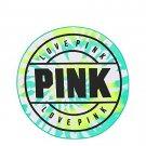 Victoria's Secret PINK Round Circle Beach Towel Green Tie Dye