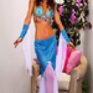 3 pc mermaid costume