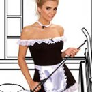 4 pc maid costume