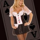 Poker girl costume