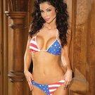Stars and stripes bikini set (brazillian back)