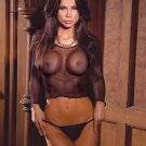 Fishnet long sleeve top with matching g- string/
