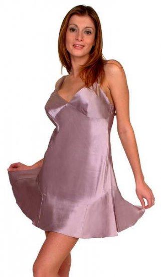 Luxurious 100% silk charmeuse chemise