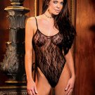 V neck lace teddy